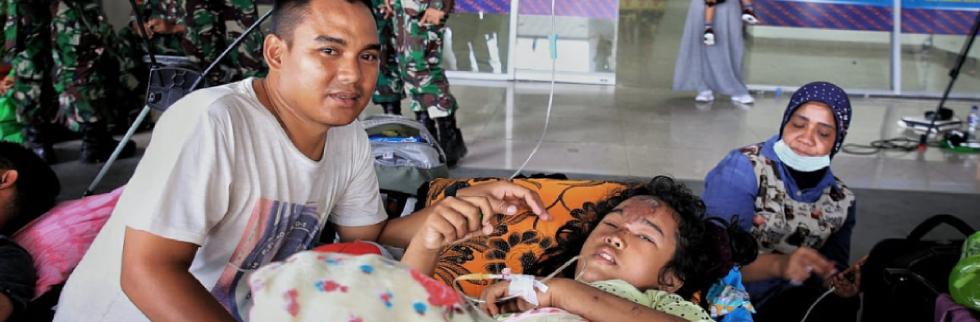 Sulawesi quake and tsunami