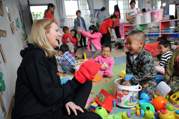 Helle Thorning-Schmidt in Yunnan Province, China
