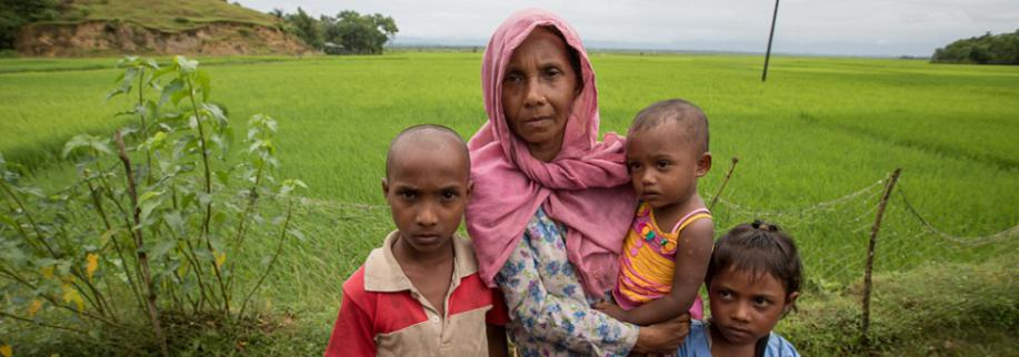 Rohingya camps a 'child protection disaster waiting to happen'