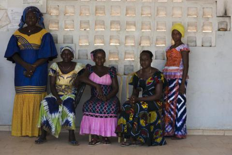 Diamila*, Mariama*, Hamdila*, Daba* and Fatima* were all married as children. Some were just 13 years old when they were married and all were forced out of school as a result. They all regret having to leave school and believe child marriage is wrong and should be stopped. Delphine Diallo/Save the Children