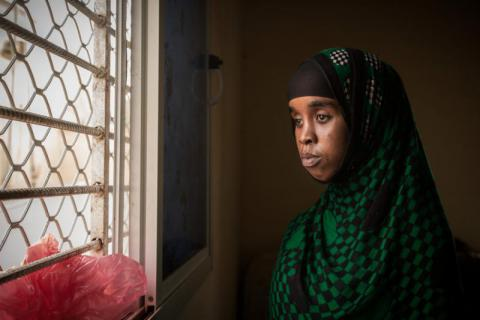 Former child bride Halima*, 17, still dreams about the baby daughter she is no longer able to visit, after leaving her abusive husband. (*name changed to protect identity). Colin Crowley/Save the Children