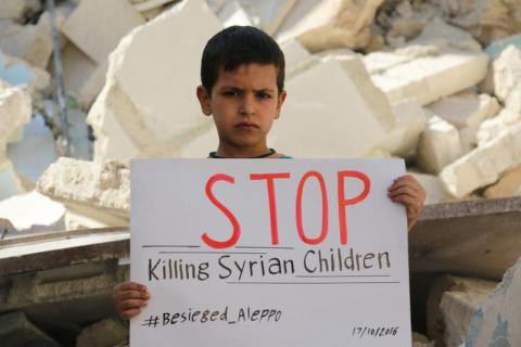 Image result for aleppo children