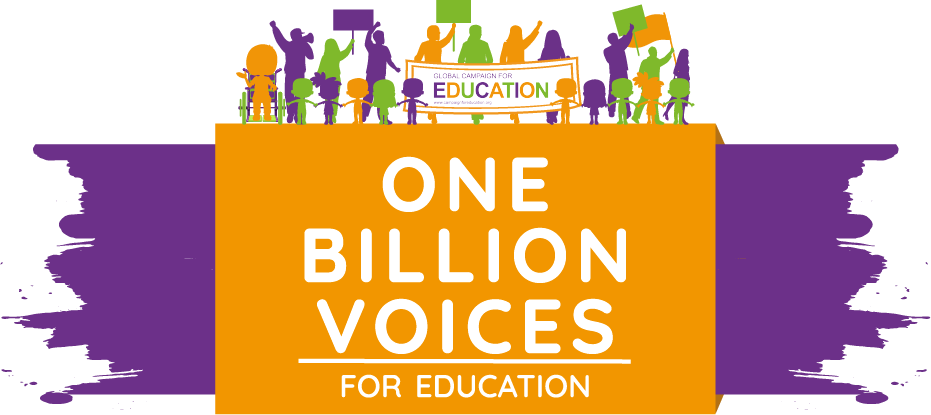 ONE billion voices for education