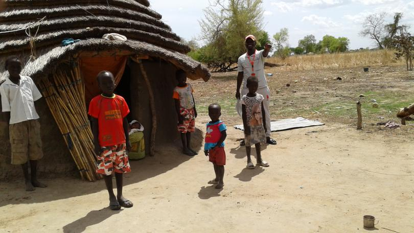 Abyei region, in the north of South Sudan.
