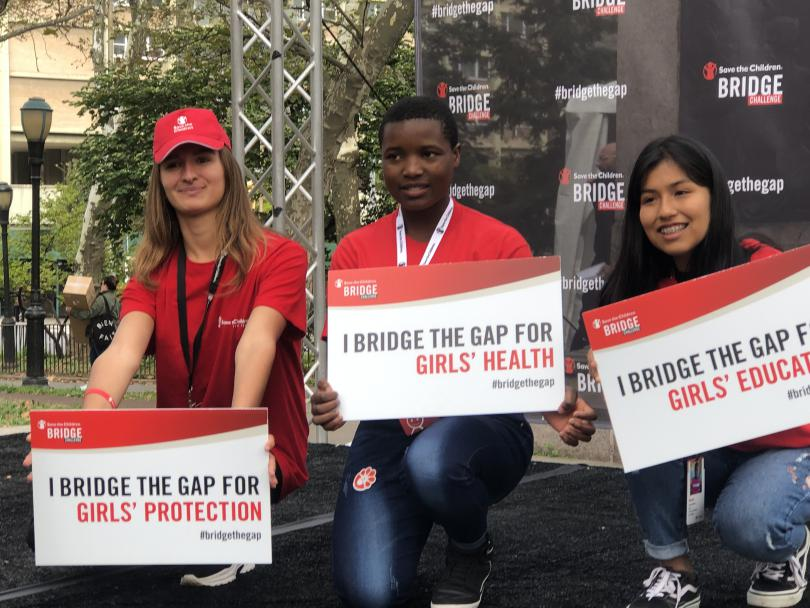 Bridge the gap for girls event