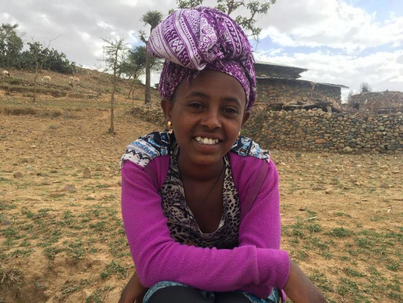 Fourteen-year-old Arsema* narrowly escaped early marriage.