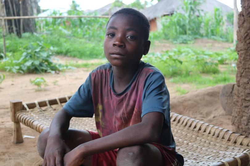 Baptista* (14) and his family in Mozambique have struggled since Cyclone Kenneth.