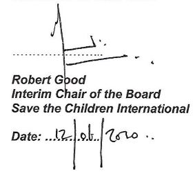 Robert Good signature