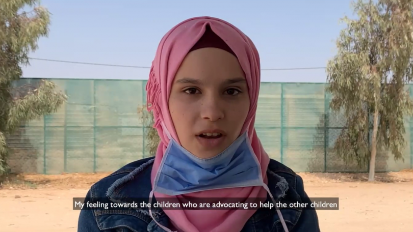 Haya*, 16, Jordan, speaks out on the issues close to her heart