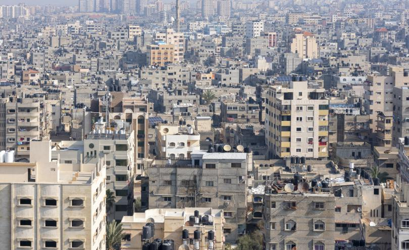 View over Gaza
