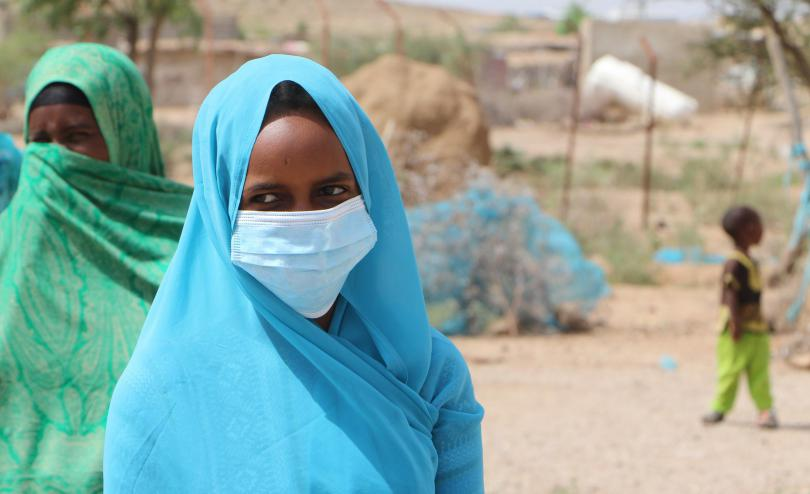 Aisha*, 15 is one of many other children in her village to have stopped going to school due to the Coronavirus pandemic. She is missing the school meals that, for most children in the village, is often the only and most reliable daily meal.