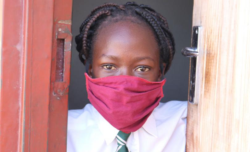 Like every other child in Zimbabwe, Shamiso's life has been disrupted by the pandemic. She is not going to school and not able to play with her friends in the neighbourhood.