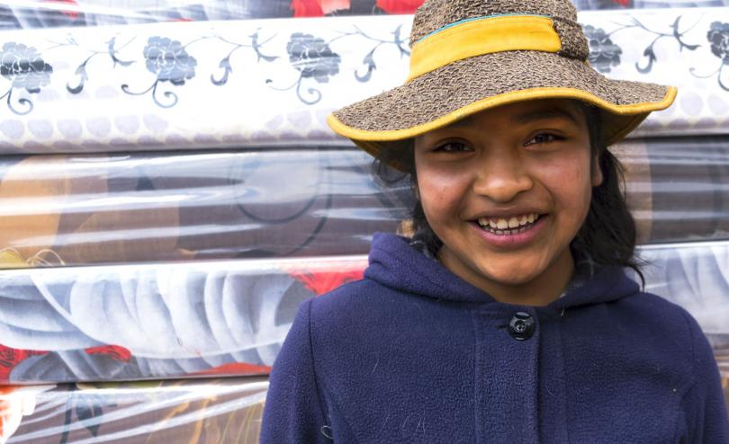 Jesica, 15, young entrepreneur from Bolivia