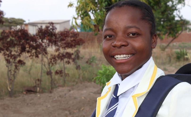 Cute, 16, Zimbabwe, speaks up for her rights