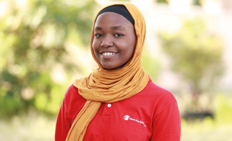 Asia (17), child campaigner in Zanzibar