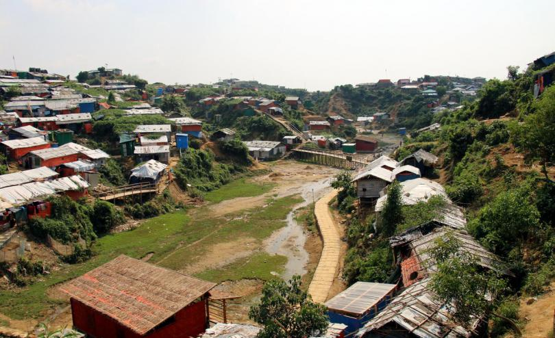 The Rohingya refugee camps in Cox's Bazar