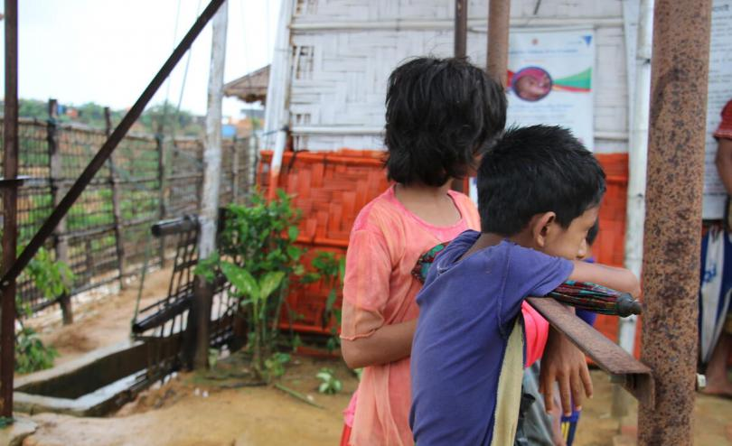 Poor living conditions in the Rohingya refugee camps present a risk during the COVID-19 outbreak