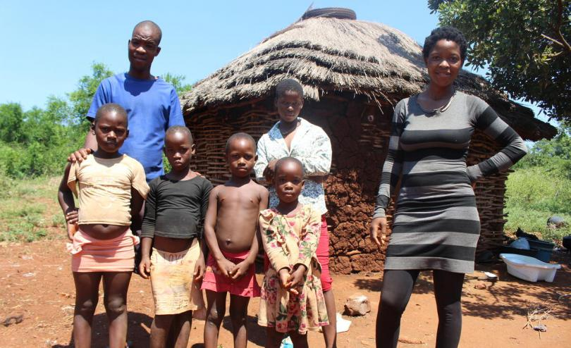 Mthobisi, 24, lives in a small village in the Lubombo region in Eswatini with his eight siblings