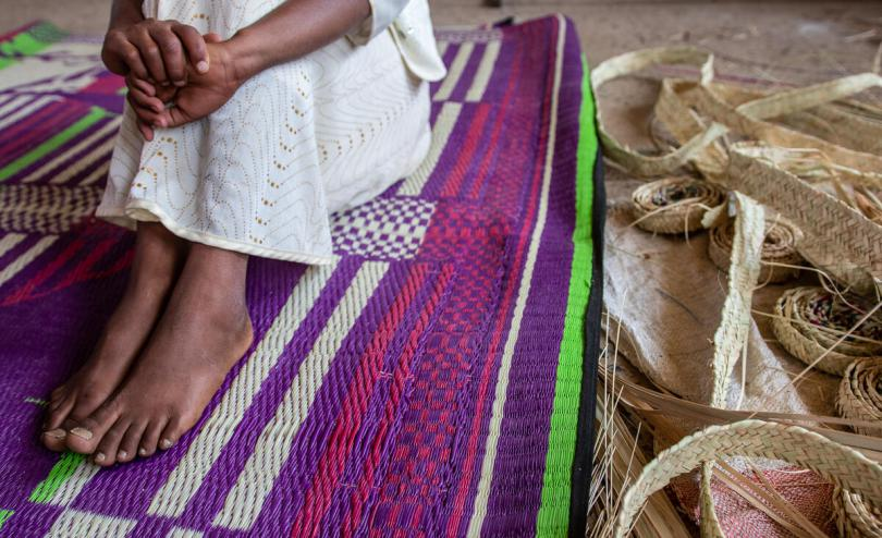 Rahel*, 13, was separated from her mother during the conflict in Tigray, Ethiopia.