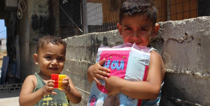 More than half a million children in Beirut are struggling to survive