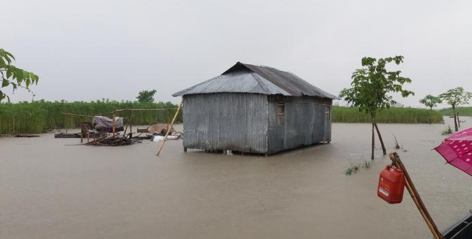 BANGLADESH: Two million children affected by unprecedented monsoon rains amid the longest-lasting floods in over twenty years