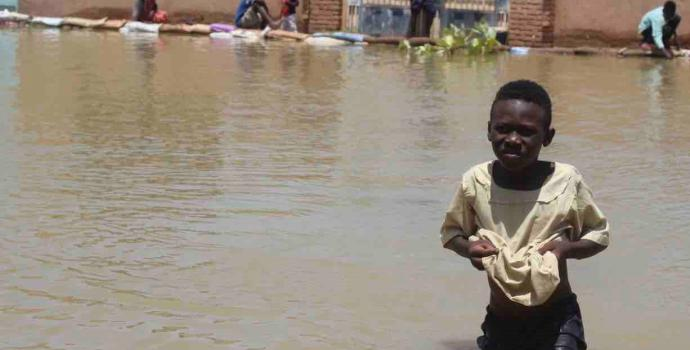 Sudan: 250,000 children impacted by flooding as the Nile records highest water levels in over a century
