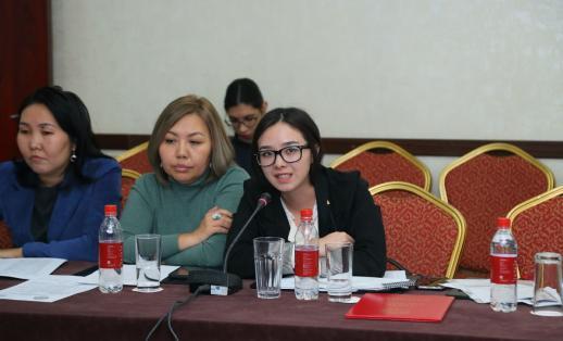 Youth leader Manata Aleksandrovna