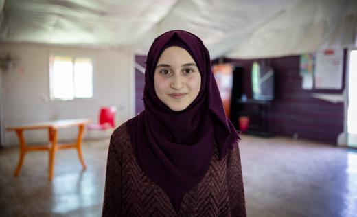 Maya*, 14, Za'atari, Jordan