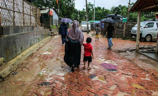 Nafisa* (25) was the first COVID-19 patient at Save the Children's isolation treatment centre in Cox's Bazar