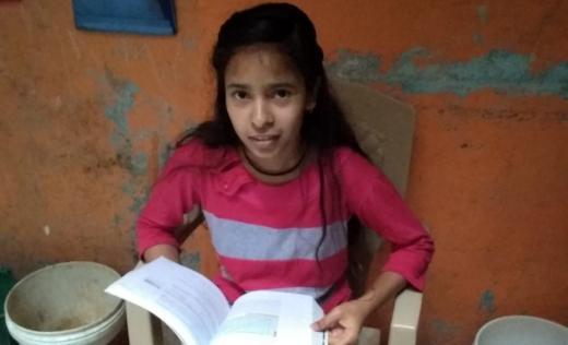 Nisha reading