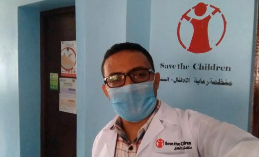 Dr Abdullelah works in a Health Center in Taiz, Yemen.