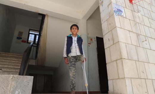Jamal, 14, from Amran governorate, Yemen