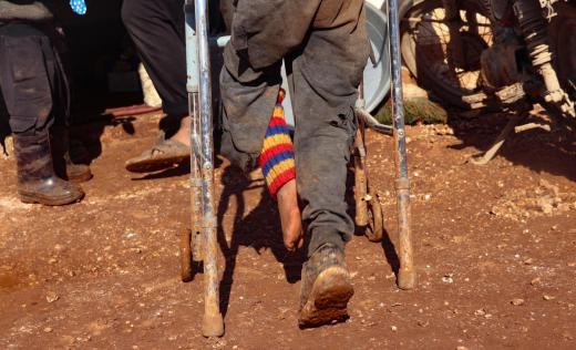 Maher*, 8, Idlib, North West Syria