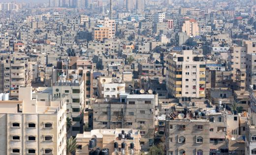 General view of Gaza