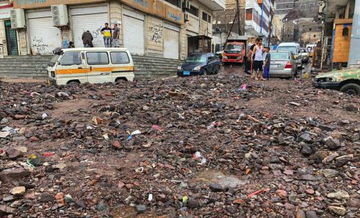 Floods in Aden, Yemen