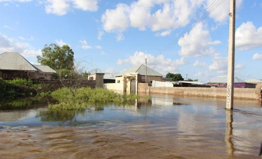 Thousands of people have been left displaced due to flooding in the worst-affected area of Beladwayne, Somalia