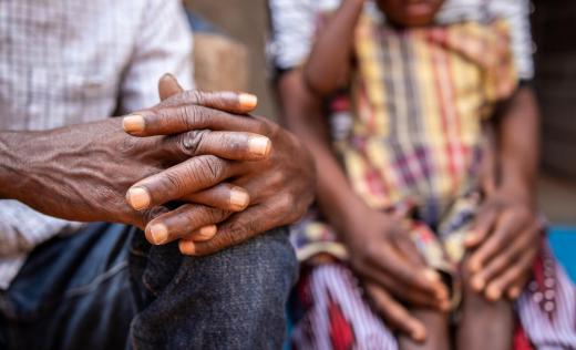 Nura* (42) and Sebastian* (51) and their four children were abducted by armed groups in Cabo Delgado, Mozambique