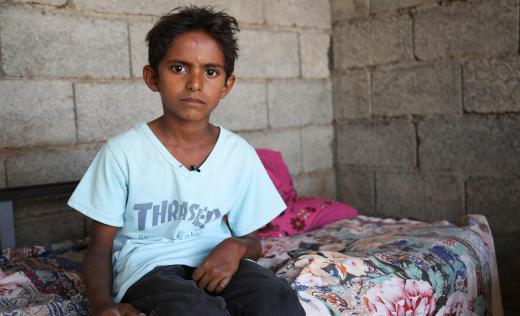 Waleed* was injured during an airstrike in Yemen which hit his grandfathers house. Besides the hunger and the violence, the country is now battling the start of a COVID-19 outbreak.