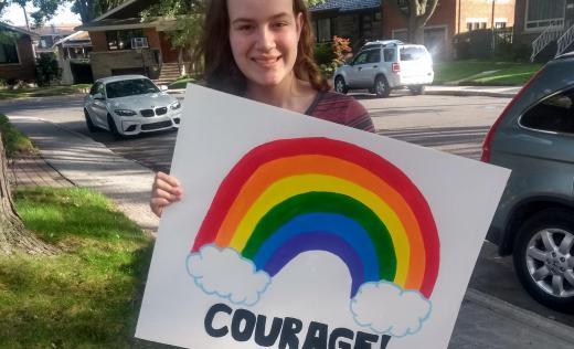 Zoe, 16, Canada, says: