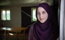 Maya*, 14, lives in Za'atari camp in Jordan with her mother and two brothers