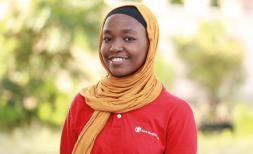 Asia (17), child campaigner in Zanzibar