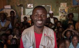 SC staff member in Rwanda