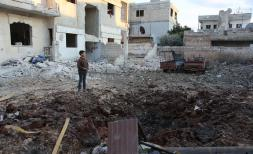 Ten schools were hit by airstrikes during Idlib's latest escalation of violence