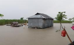 Floods in the Kurigram District, Bangladesh