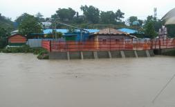 Heavy monsoon rains and flooding have triggered landslides in Cox's Bazar, Bangladesh