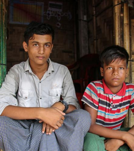 KAMAL'S STORY: WE WANT TO LIVE IN PEACE