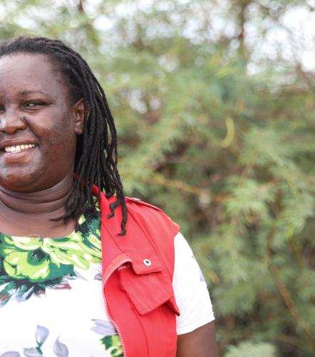 Born and raised in Turkana: Miriam is serving her people during COVID-19