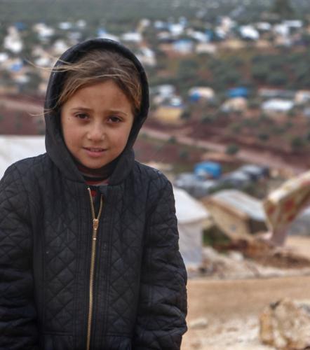 Lara*, 7, Syria