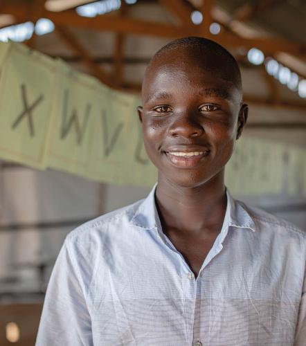 Jonathan*, 15, South Sudan