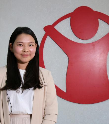 Meet Miga, a child rights activist from Mongolia
